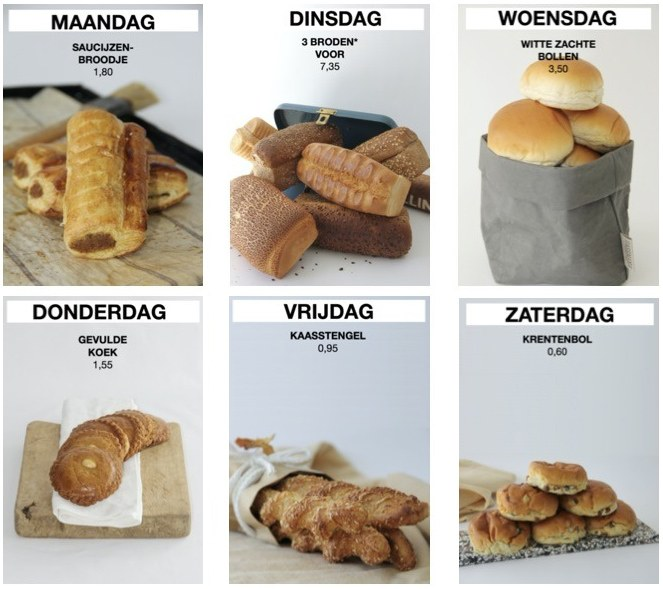 Brood & Banketbakkerij Sterk Nieuwegein Dagaanbiedingen